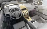 Aston Martin Vantage V12 Zagato Heritage Twins interior Speedster