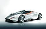 Autocar Aston Martin mid-engined supercar