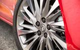 17in Vauxhall Astra Turbo alloys