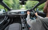 Driving the Vauxhall Astra