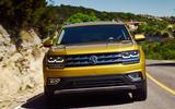 Volkswagen Atlas front end