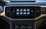 Volkswagen Atlas infotainment system