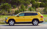 Volkswagen Atlas side profile