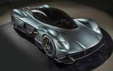 Aston Martin Valkyrie interior leaks online