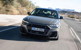 Audi A1 front view