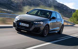 Audi A1 front tracking shot