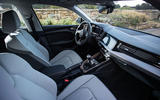 Audi A1 front cabin