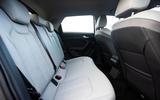 Audi A1 cabin rear