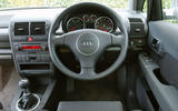 Audi A2 used buying guide - steering wheel