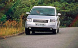 Audi A2 used buying guide - cornering front