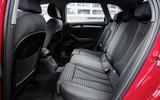 Audi A3 Sportback rear seats