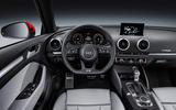 Audi A3 facelift interior
