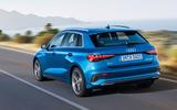 2020 Audi A3 - rear
