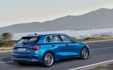 2020 Audi A3 - rear 3/4
