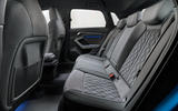 2020 Audi A3 - rear seats