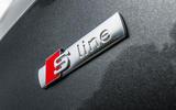 Audi A3 Sportback S-line badging