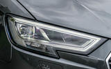 Audi A3 LED headlights