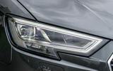 Audi A3 LED headlights