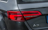 Audi A3 Sportback rear lights