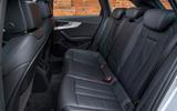 Audi A4 Allroad rear seats
