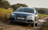 Audi A4 Allroad quattro Sport 3.0 TDI 218 S tronic driving through mud