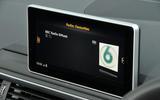 Audi A4 Allroad quattro Sport 3.0 TDI 218 S tronic infotainment screen