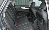 Audi A4 Allroad quattro Sport 3.0 TDI 218 S tronic rear seats