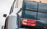 Mercedes-Maybach G650 Landaulet rear left tail-light