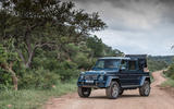 Mercedes-Maybach G650 Landaulet stationary front view