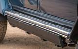 Mercedes-Maybach G650 Landaulet side sills