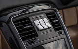 Mercedes-Maybach G650 Landaulet roof retraction controls