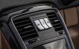 Mercedes-Maybach G650 Landaulet roof retraction controls