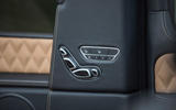 Mercedes-Maybach G650 Landaulet seat adjustment buttons