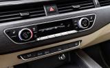 Audi A4 centre console