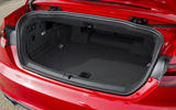 Audi A5 Cabriolet boot space