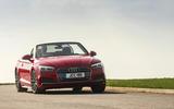 Audi A5 Cabriolet cornering