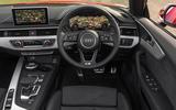 Audi A5 Cabriolet dashboard