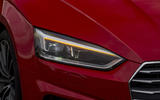 Audi A5 Cabriolet headlights