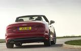 Audi A5 Cabriolet rear cornering