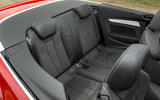 Audi A5 Cabriolet rear seats