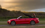 Audi A5 Cabriolet roof closing