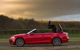 Audi A5 Cabriolet roof opening