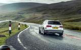 Audi A6 Allroad rear cornering