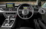 Audi A7 dashboard