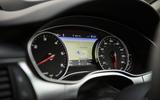 Audi A7 instrument cluster
