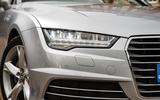 Audi A7 LED headlights