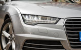 Audi A7 LED headlights
