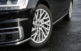 Audi A8 50 TDI alloy wheels