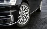 Audi A8 50 TDI alloy wheels