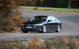 Audi A8 50 TDI cornering